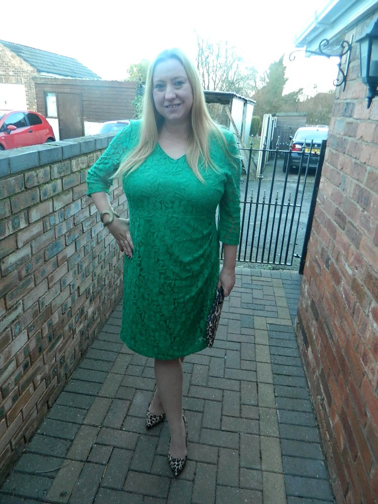 Reviewed – Planet Emerald Lace Dress | fashionmommy\'s Blog