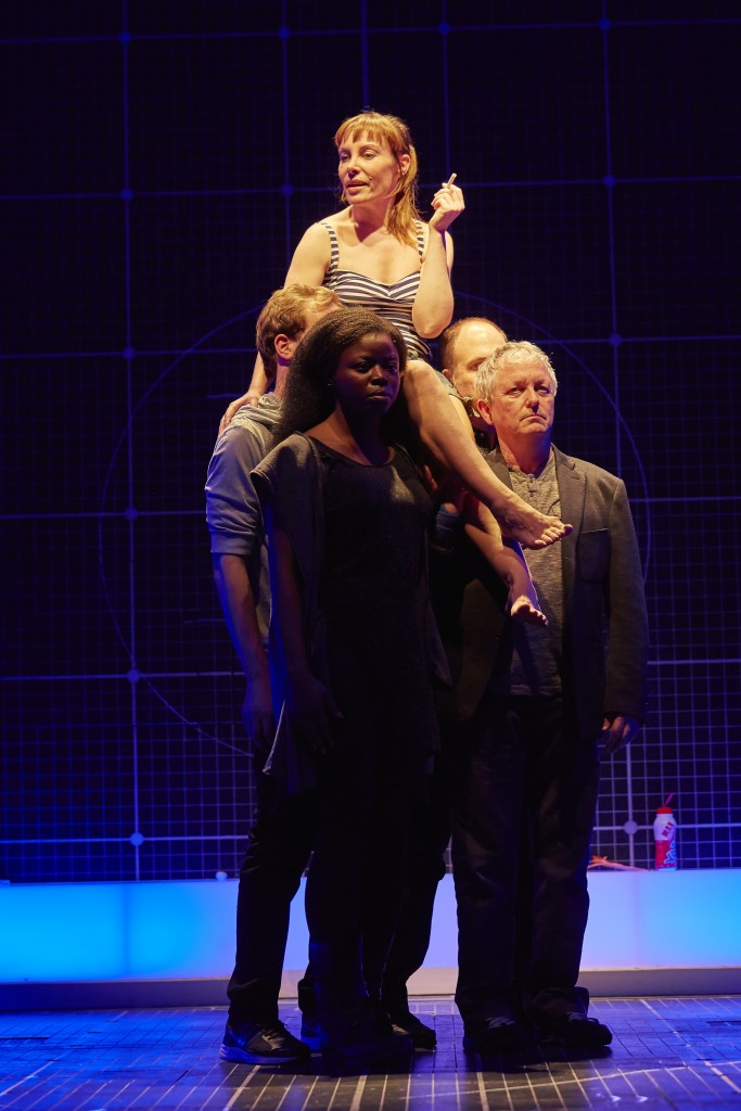 Gina Isaac (Judy) and the cast of The Curious Incident of the Dog in the Night-Time UK Tour. Photo by BrinkhoffMögenberg.JPG