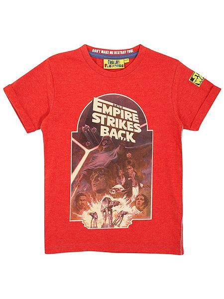 Fabric Flavours Kids Empire Strikes Back classic t-shirt £16 click to visit House of Fraser
