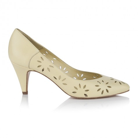 Penelope Lemon Leather Shoes £129 click to visit Agnes and Norman