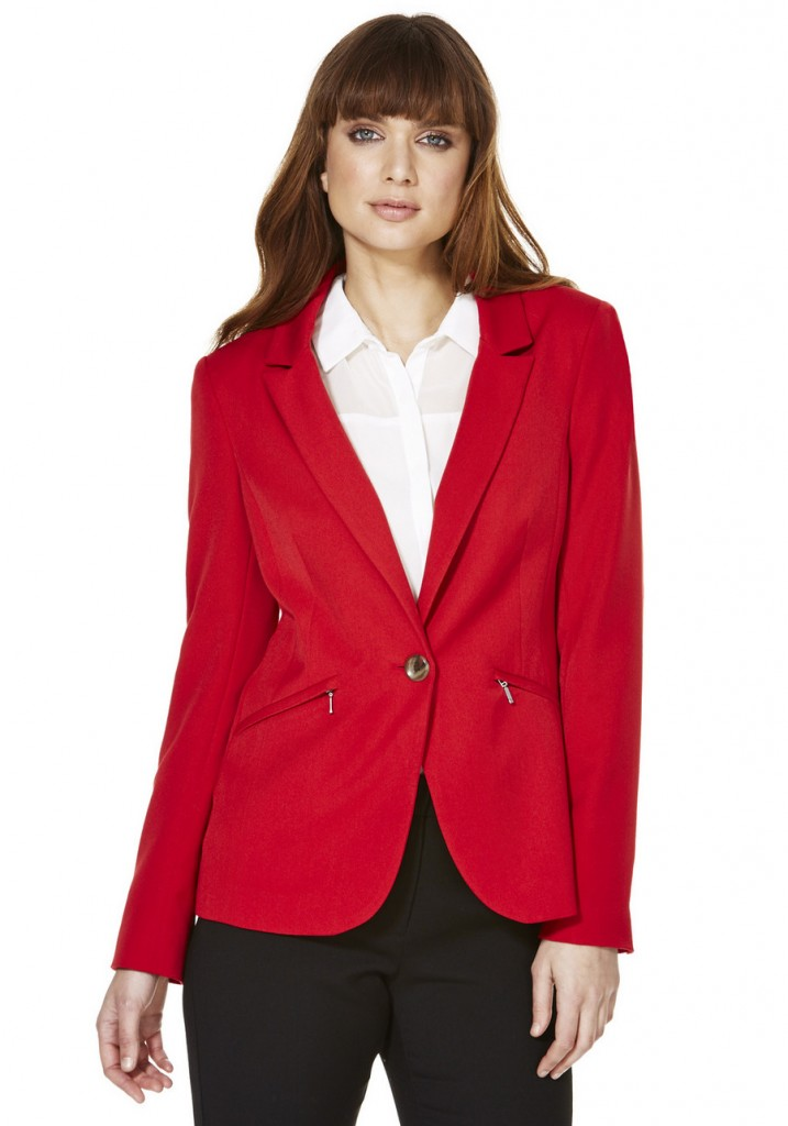 F&F Zip Detail Tailored Jacket £22.00 click to visit F&F