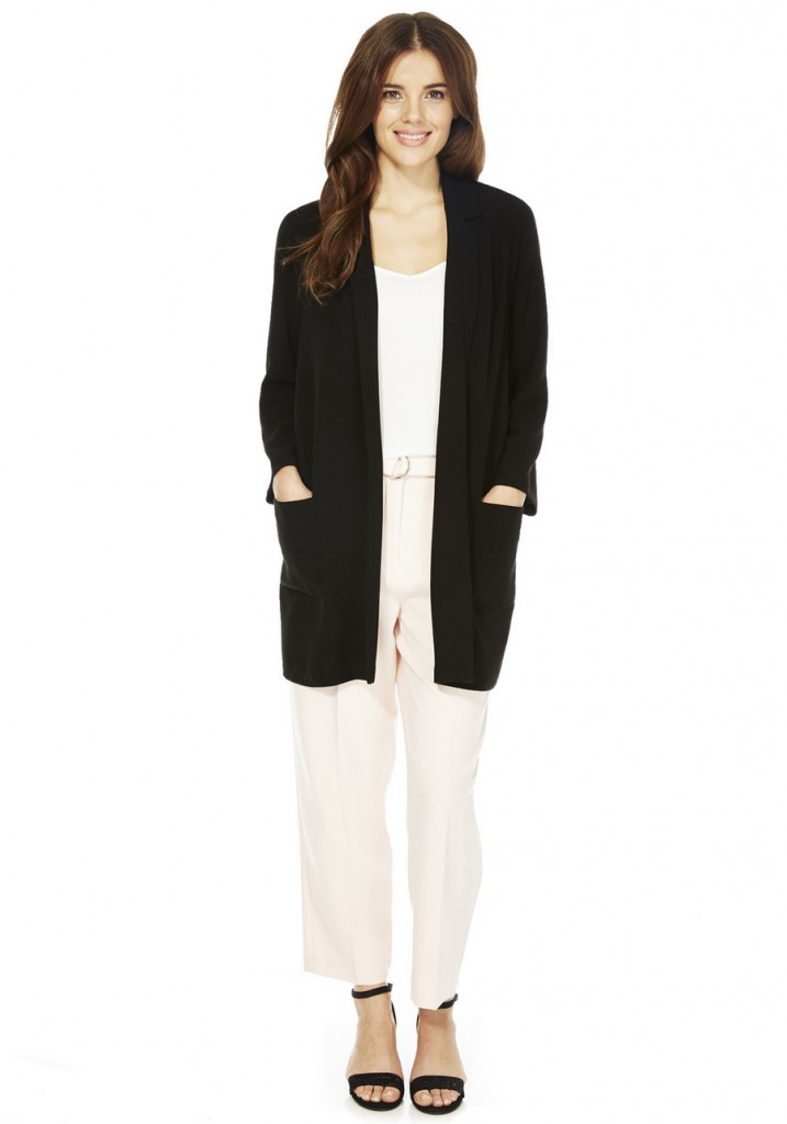 F&F Crepe Duster Jacket £25.00 click to visit F&F