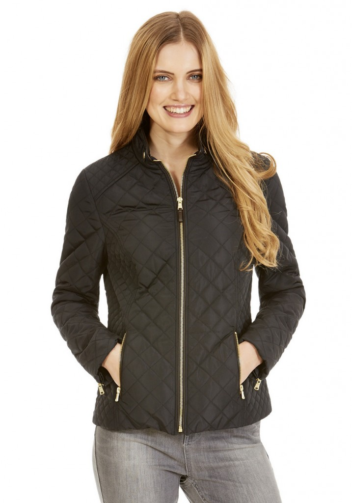 F&F Quilted Jacket £30.00 click to visit F&F