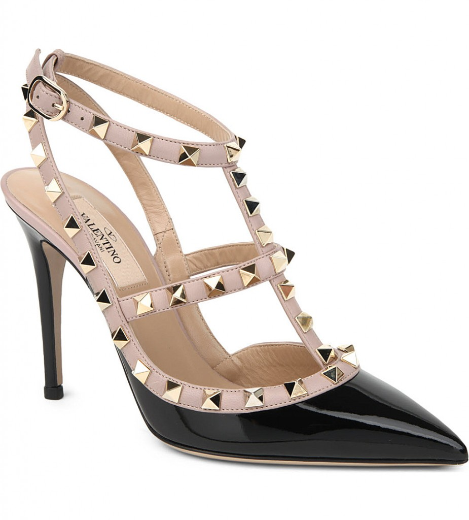 VALENTINO Rockstud patent leather courts     £615.00 click to visit Selfridges