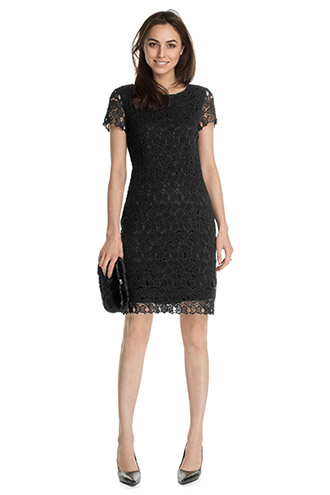 cotton crocheted lace dress £ 99.00 click to visit Esprit