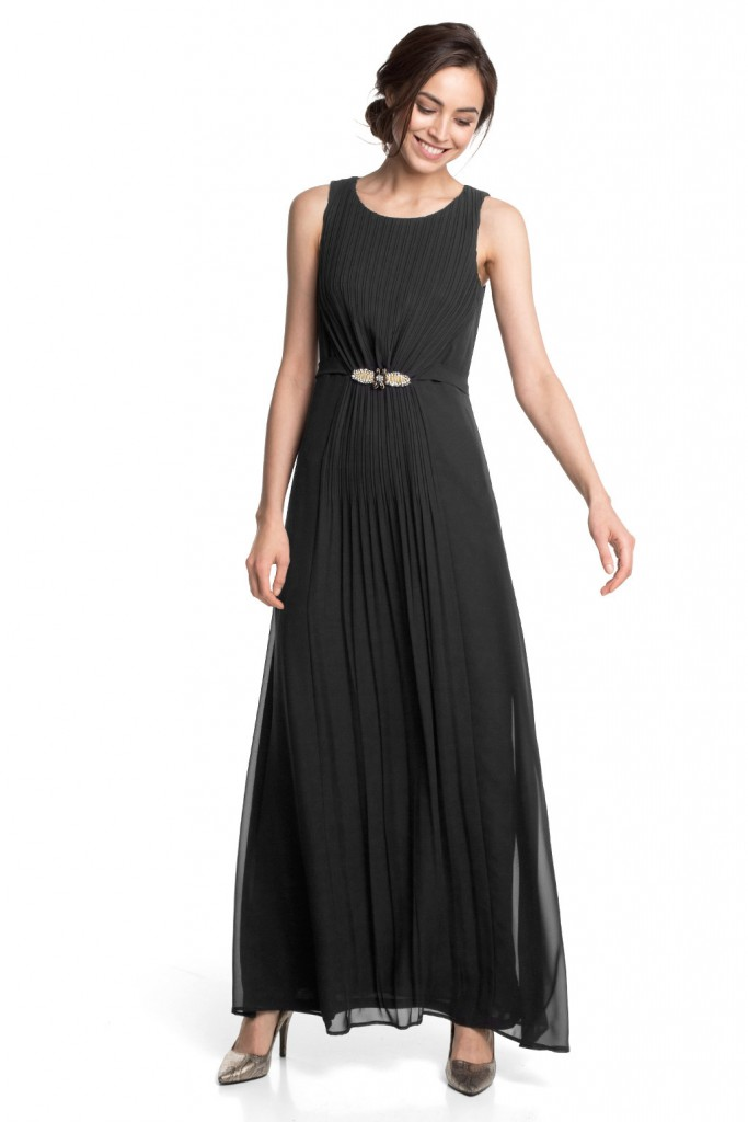 flowing chiffon maxi dress £ 99.00 click to visit Esprit