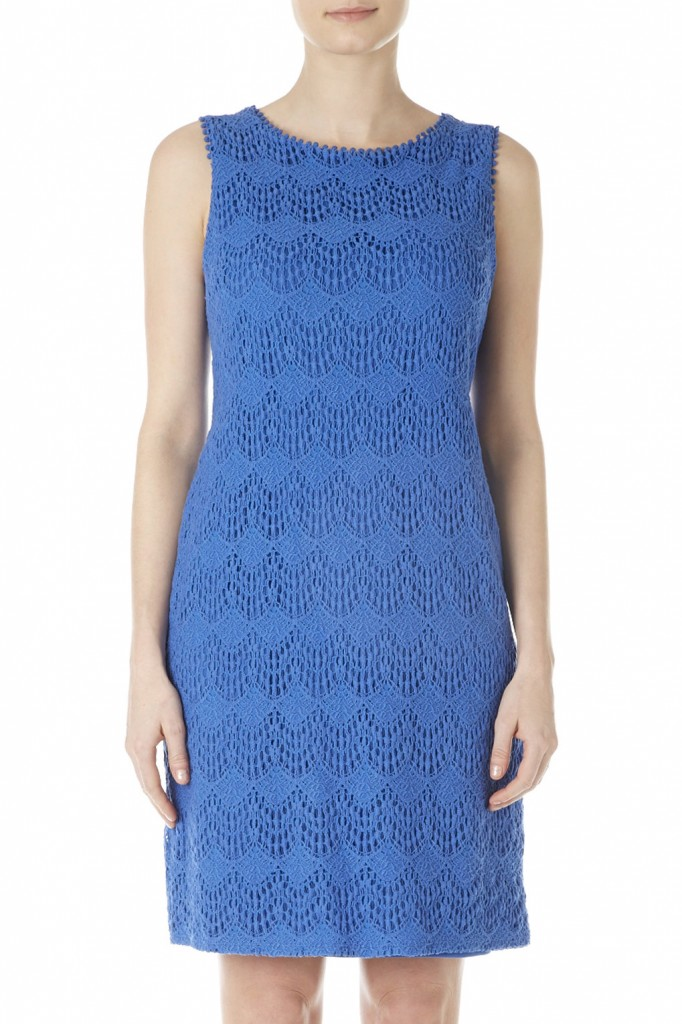 Petite Blue Lace Shift Dress     Price: £40.00 click to visit Wallis