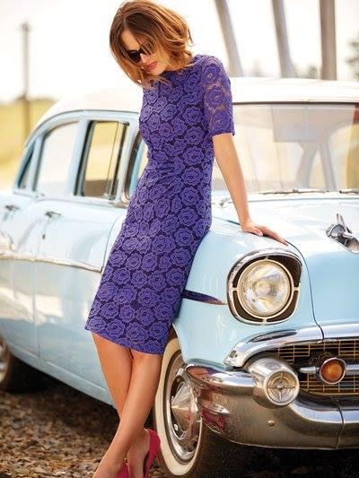 Lace shift dress £49 click to visit M&Co