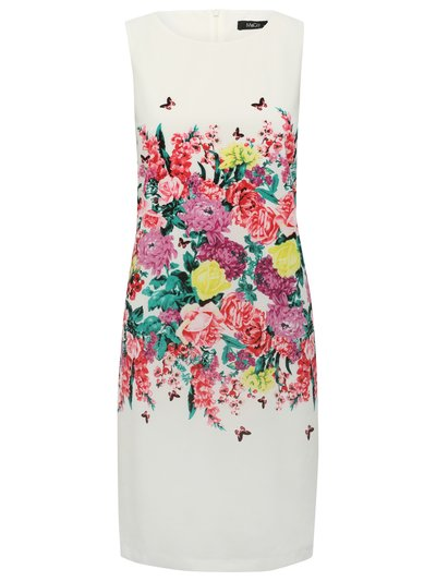Floral print shift dress Details http://www.mandco.com/floral-print-shift-dress-white/121430600300008.html Product Number: 121430600300008 Colour: WHITE £39.00 click to visit M&Co