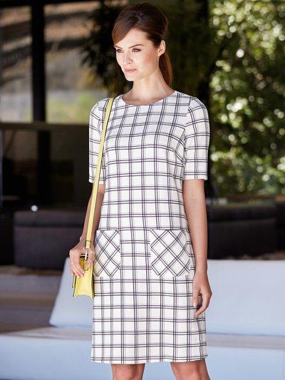 Check print shift dress £39.00 click to visit M&Co