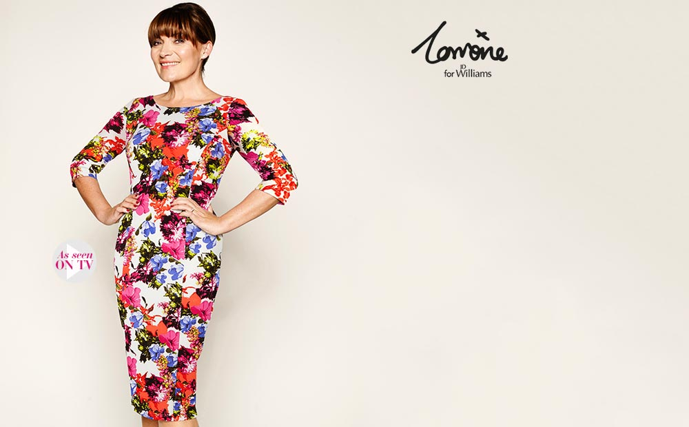 Totally love this floral dress, also from the Lorraine range from JD Williams