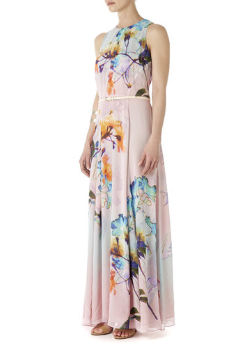 Floral Maxi Dress Was £85.00 Now £80.75 click to visit Wallis