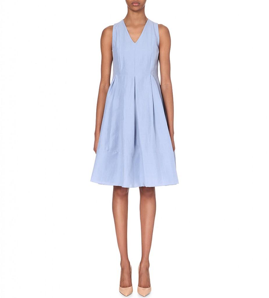 S MAX MARA Gersa linen and cotton-blend dress     £320.00 click to visit Selfridges