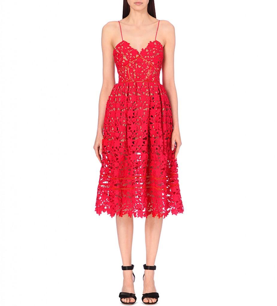 SELF-PORTRAIT Azaelea lace dress     £240.00 click to visit Selfridges