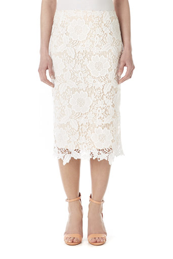 Pink Lace Skirt Was £40.00 Now £38.00 click to visit Wallis
