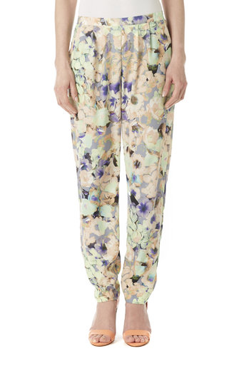 Floral Tapered Trouser Was £40.00 Now £38.00 click to visit Wallis