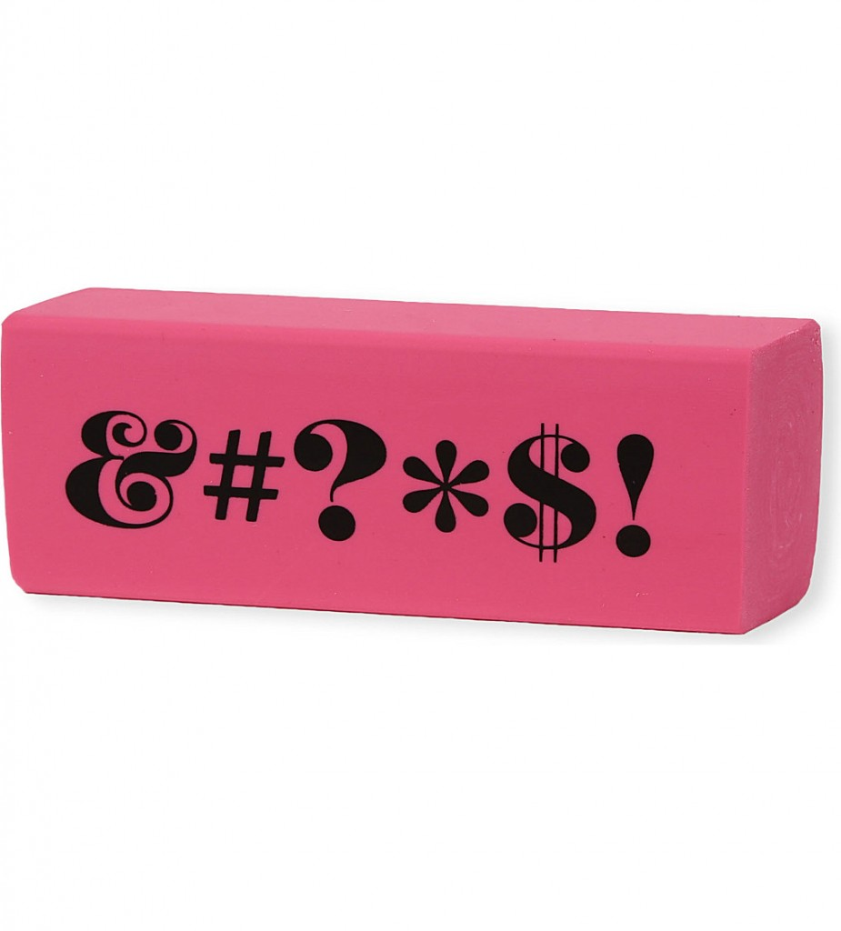 KATE SPADE Desktop eraser £11.95 click to visit Selfridges