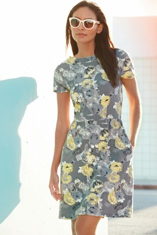 Floral Textured Dress £25 click to visit Next