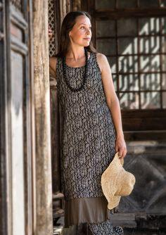 """Ubud"" dress in modal £65 click to visit Gudrun Sjoden"