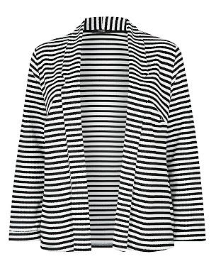 Plus Size Stripe Blazer £16.00 click to visit Asda George