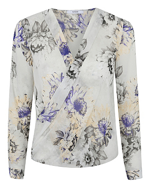 Printed Wrap Blouse £14.00 click to visit Asda George