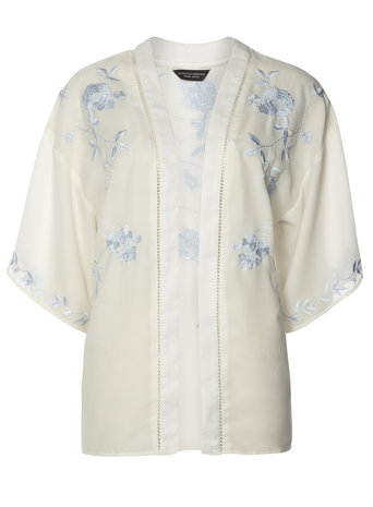 Embroidered Floral Kimono Price: £28.00 click to visit Dorothy Perkins