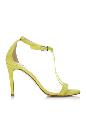 Lime T-Bar Strappy Sandal Was £75.00 Now £60.00 click to visit Wallis
