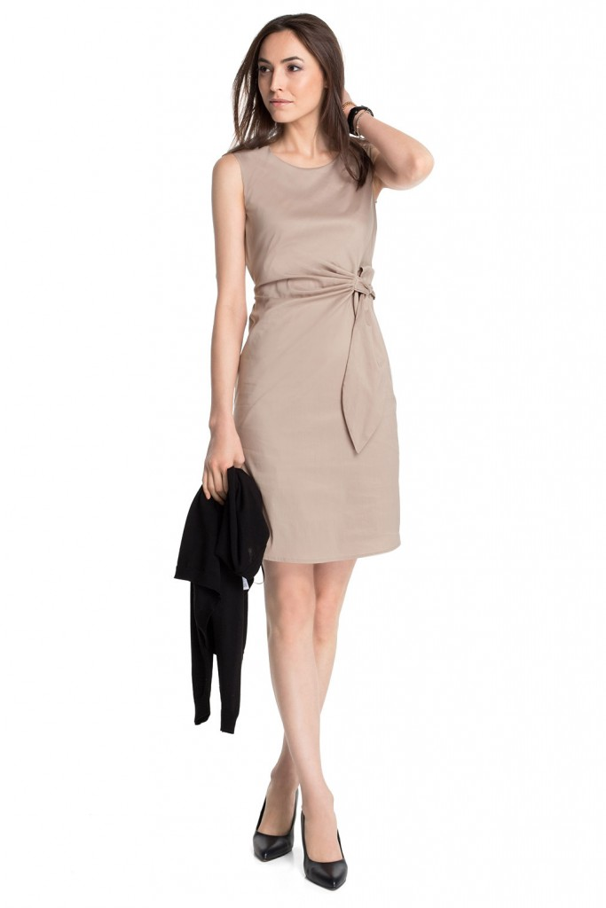 stretch cotton dress £ 69.00 click to visit Esprit