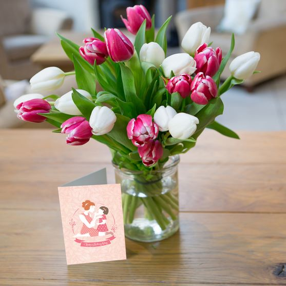 Mother's Day Tulips only £19.90 click to visit iFlorist