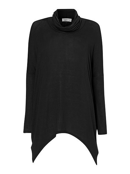 Label Lab Slouch polo neck jersey knit jumper £45 click to visit House of Fraser