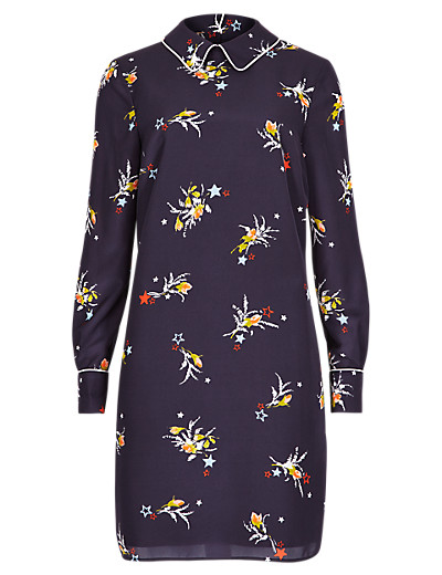 LIMITED EDITION New Star Print Shirt Dress £39.50 click to visit M&S
