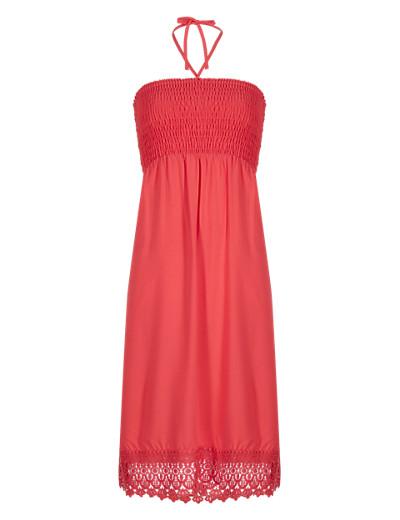 M&S COLLECTION New Crochet Hem Shift Dress  £25 click to visit M&S