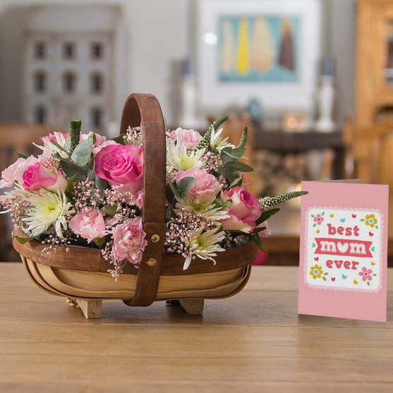 Best Mum Ever Trug only £29.90 click to visit iFlorist