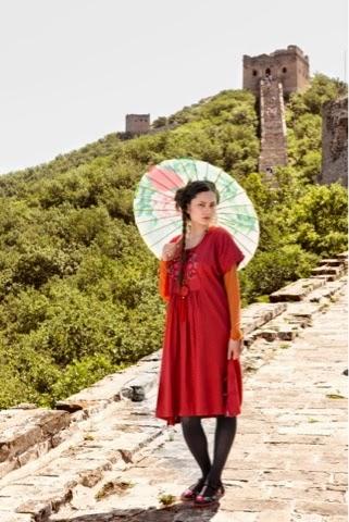 Li- Wei dress £99 Click to visit Gudrun Sjoden