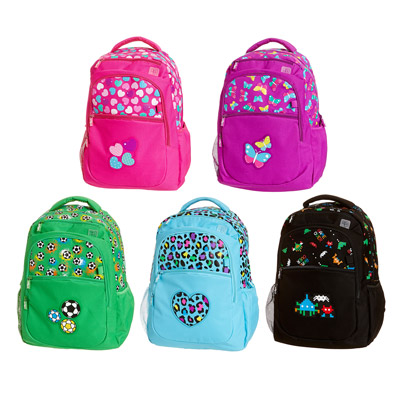 Colour Pop Backpack 2 £26 click to visit Smiggle