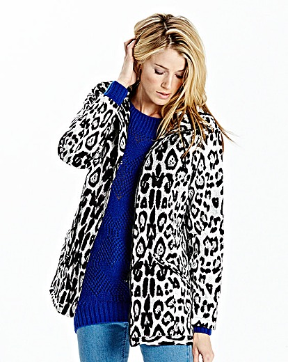 Animal Print Parka Product Code: WF212NE £16.50