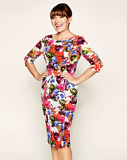 LK printed Textured dress Product Code: WF492MY £49.00 click to visit JD Williams