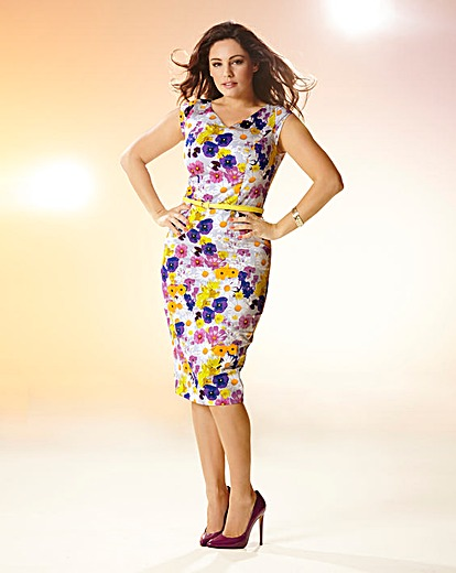 Kelly Brook Print Belted Dress Product Code: CH888JF £60.00 click to visit Simply Be