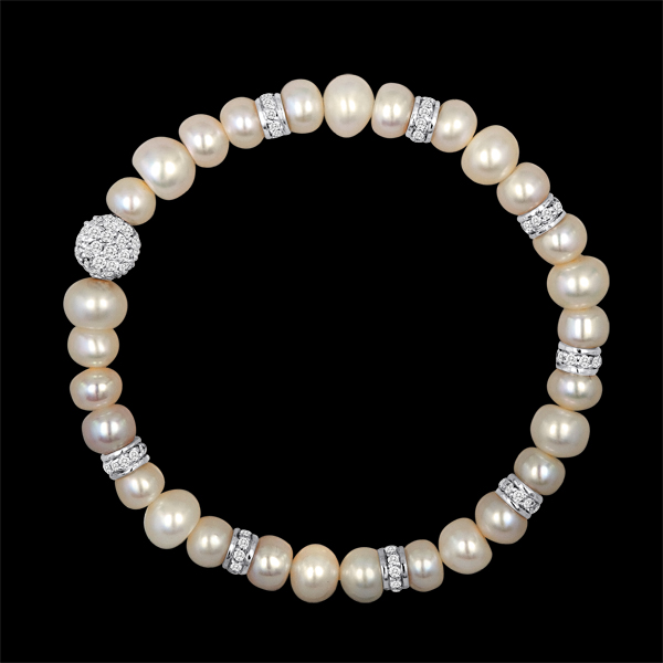 Pearl Rondel Bracelet $125 click to visit Pearl and Clasp