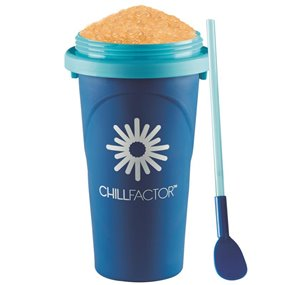 ChillFactor Squeeze Cup Slushy Maker Tutti Fruity – Blue £12.99  click to visit Character