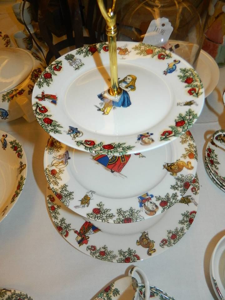 Cake Stand £48 click to visit The Alice Boutique