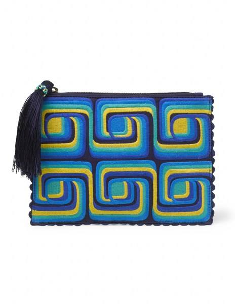 Genoa Embroidered Pouch AM232 £49.00 click to visit Boden