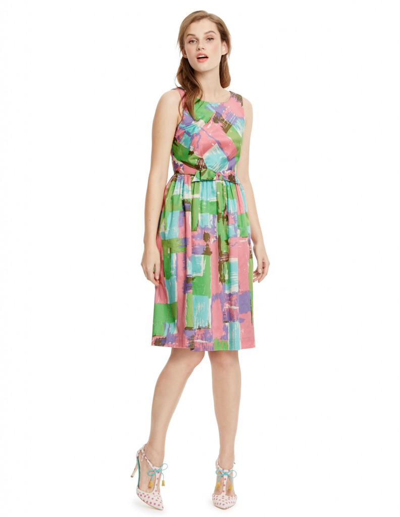 Vintage Bow Dress WH819 Was 110.00 Now £88.00 To £110.00 click to visit Boden