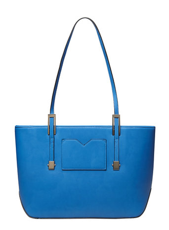 Kingfisher blue landscape tote bag     Price: £22.00     Colour: Blue click to visit House of Fraser