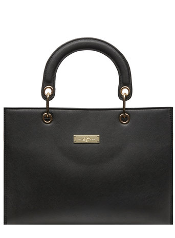 Black ring handle tote bag     Price: £25.00     Colour: Black click to visit Dorothy Perkins