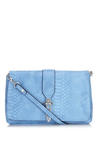 Blue Trim Detail Bag     Price: £25.00 click to visit Dorothy Perkins