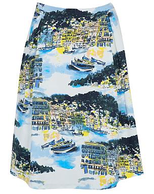 Scenic Print Skirt £14.00 click to visit Asda George