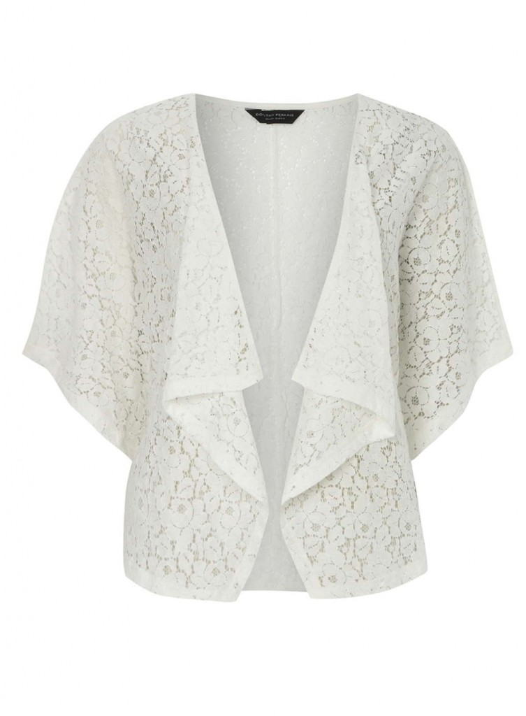 Ivory Lace Kimono Was £18.00 Now £16.20 click to visit Dorothy Perkins