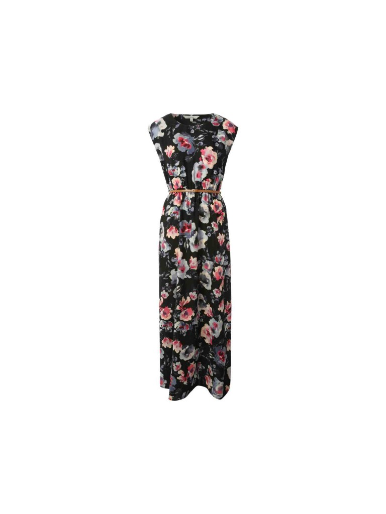 Womens Belted Slash Neck Maxi Dress £16.00 click to visit Peacocks
