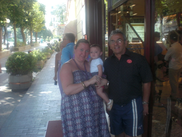 In Sorrento, Italy the last time we visited.